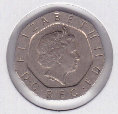 2003 England - 20 Pence Coin