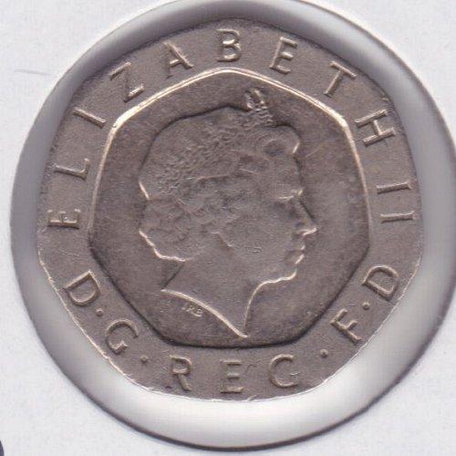 2002 England - 20 Pence Coin