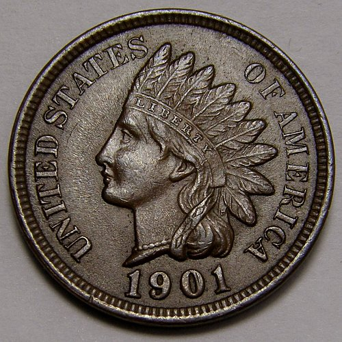 1901  Indian Head Cent #9