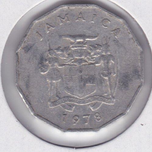 1978 Jamaica 1 Cent Coin