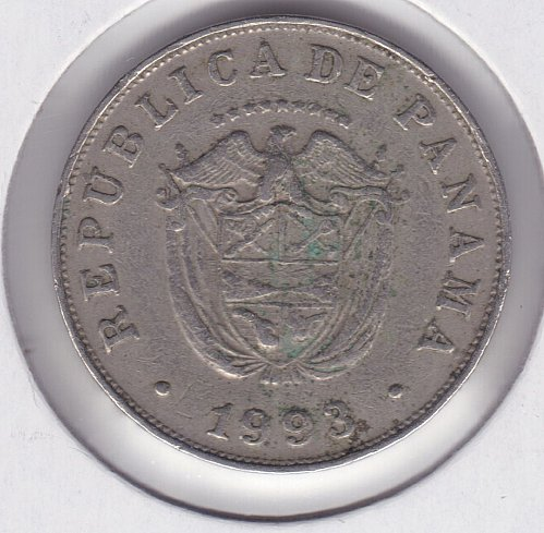 1993 Panama 5 Cents Coin
