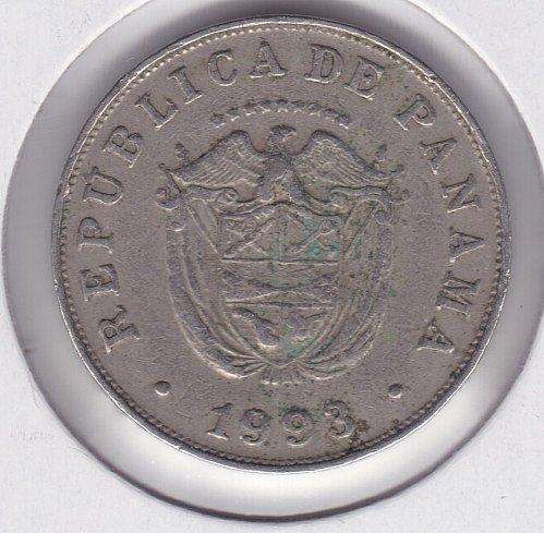 1993 Panama 5 Cents Coin