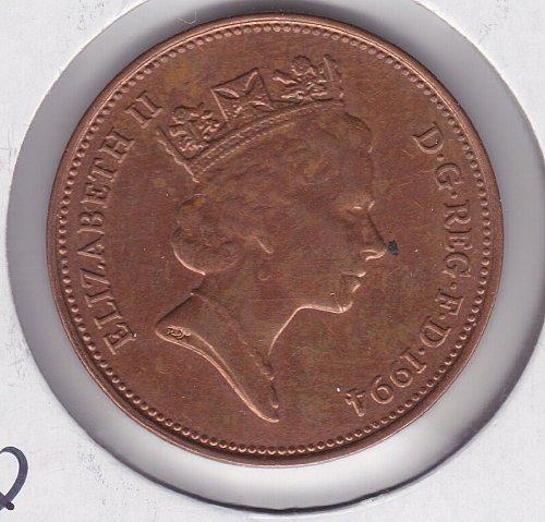 1994 England 2 Pence