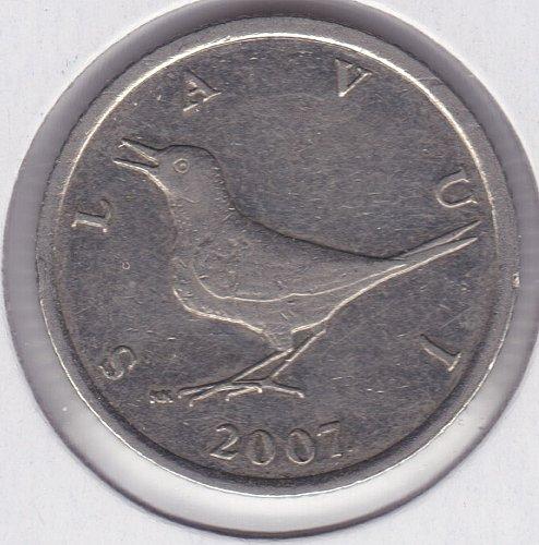 2007 Croatia 1 Kuna Coin