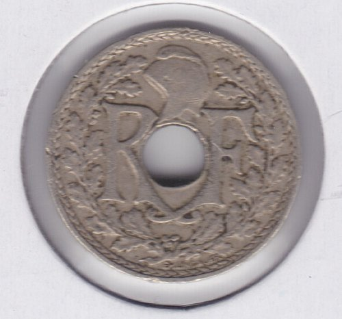 1939 France 5 Centimes Coin - 5C - 5 Cents