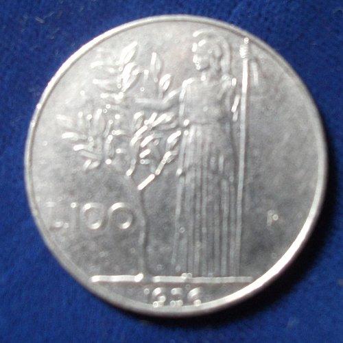 1956 Italy 100 Lira XF
