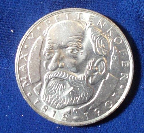 1968D Germany/Federal Republic 5 Mark BU