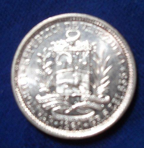 1960 Venezuela Bolivar BU