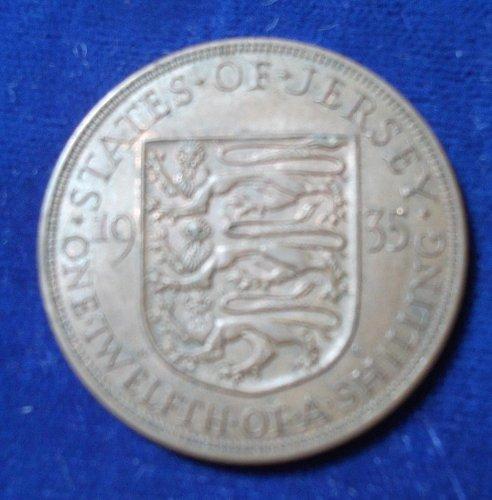 1935 Jersey 1/12th Shilling XF