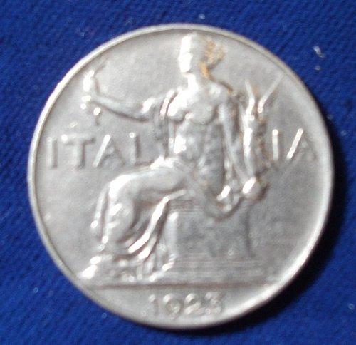 1923 Italy Lira VF+