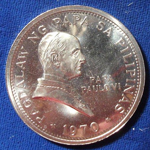 1970 Phillipines Peso BU