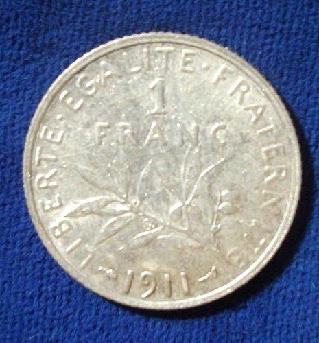 1911 France Franc XF