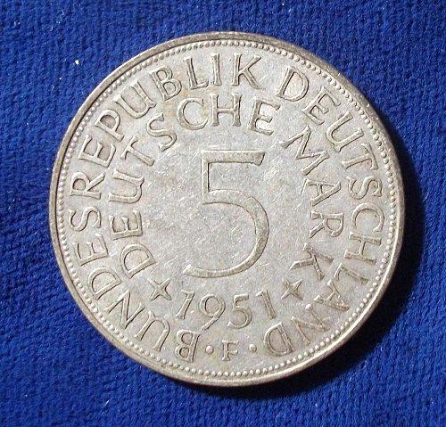 1951F Germany/Federal Republic VF