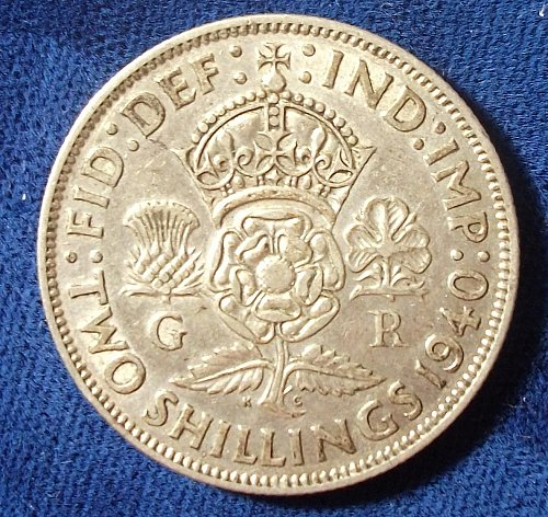 1940 Great Britain Florin XF
