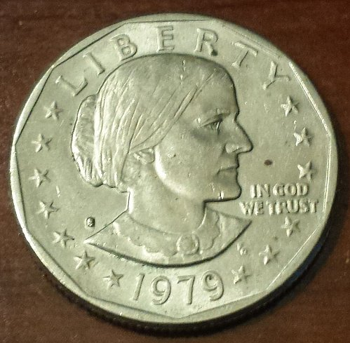 1979-S Susan B Anthony Dollar *** FREE SHIPPING *** (5896)