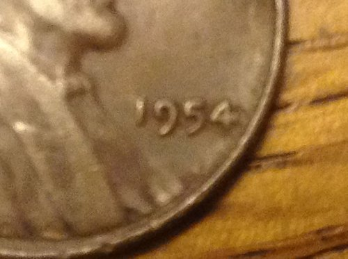 1954 wheat penny