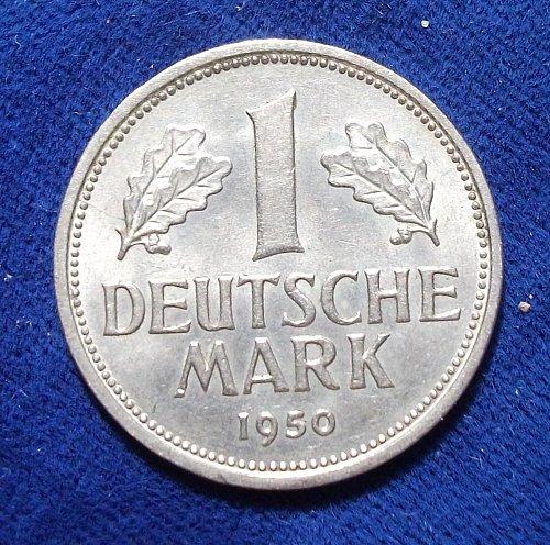 1950J Germany/Federal Republic Mark AU