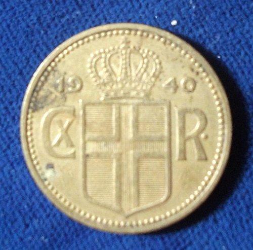 1940 Iceland Krona XF