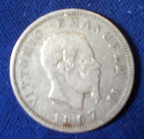 1867M BN Italy Lira Fine