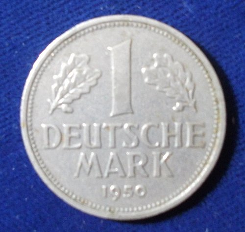 1950G Germany/Federal Republic Mark XF