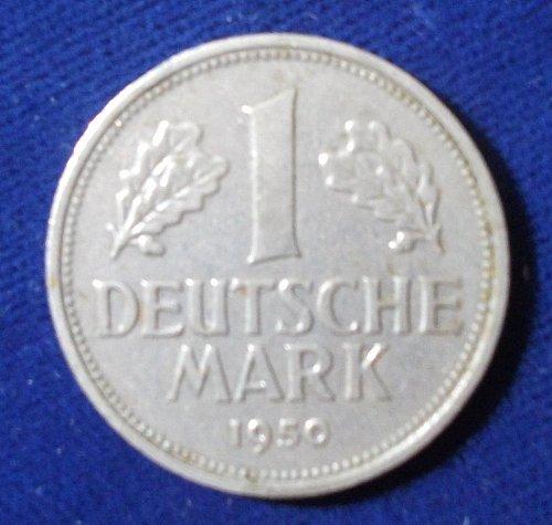 1950G Germany/Federal Republic Mark XF