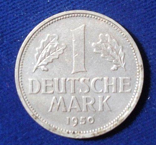 1950B Germany/Federal Republic Mark AU