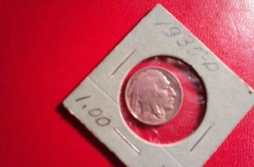 1935 Indian buffalo nickel