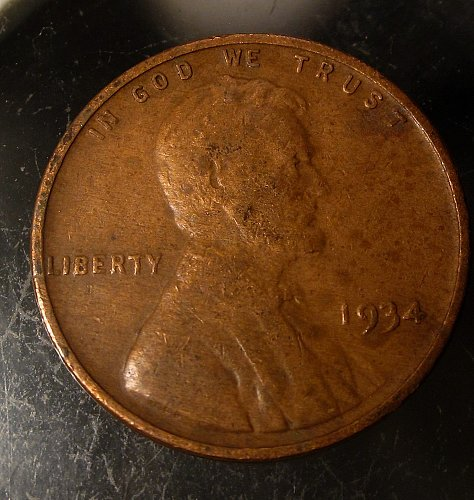1934 Lincoln Cents –Nice Penny