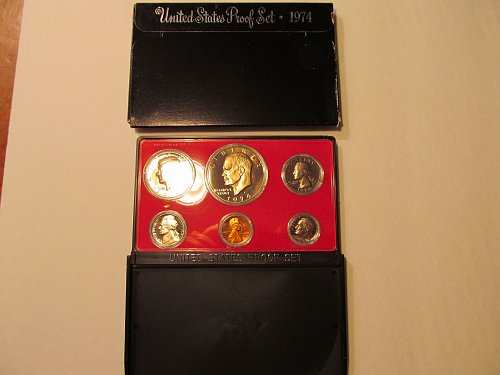 1974 United States Mint proof set