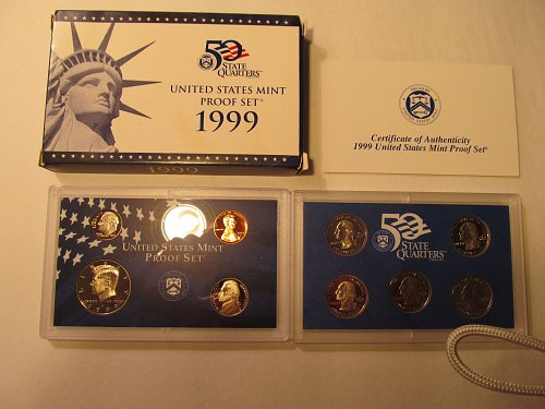 1999 United States Mint Proof Set