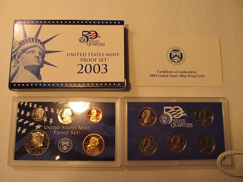 2003 United States Mint Proof Set