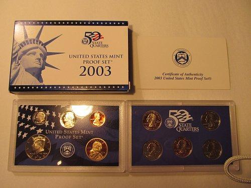 2003 United States Mint Proof Set