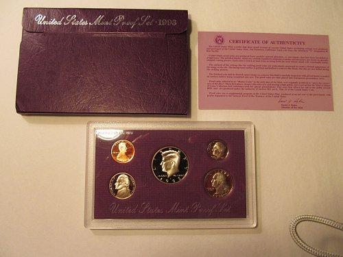 1993 United States Mint Proof Set