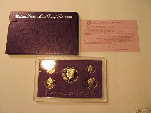 1992 United States Mint Proof Set
