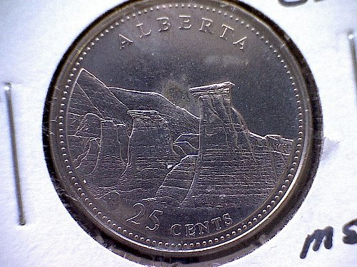 1867 - 1992 CANADA 25 CENT 125 TH ANNIVERSARY OF   CONFEDERATION DESIGN COIN
