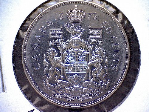1979 CANADA 50 CENT COIN