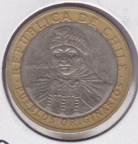 2006 Chile 100 Pesos - Bi-Metallic