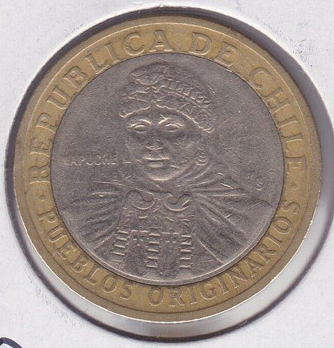 2006 Chile 100 Pesos - Bi-Metallic