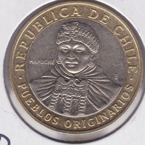 2010 Chile 100 Pesos