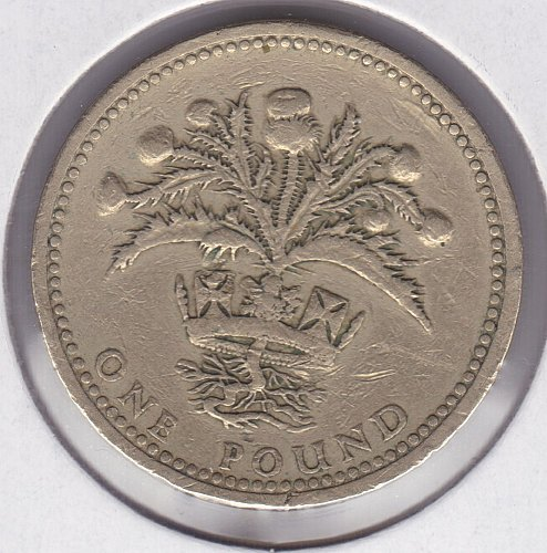 one pound coin 1984 price