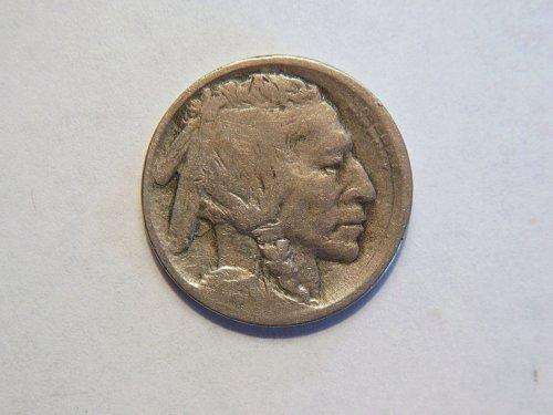 1913-D Type ll Buffalo Nickel