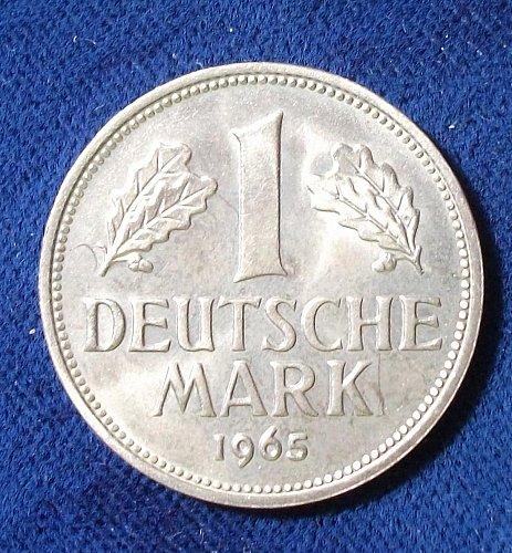 1965F Germany/Federal Republic Mark UNC