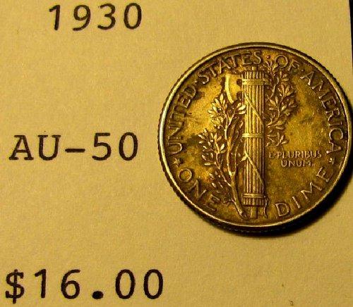 1930 Mercury Dime  choice strike A-18  10% discounted!!
