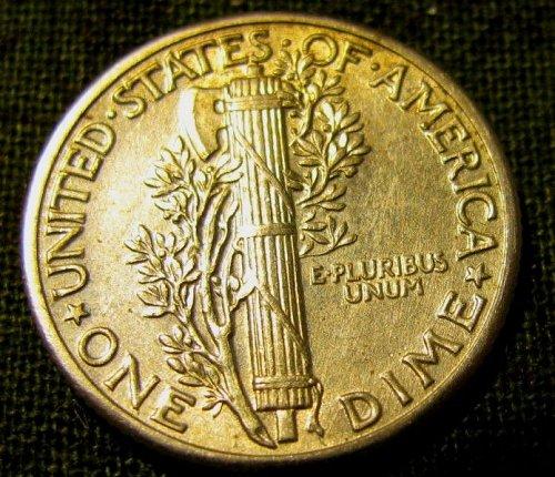 1940 P  Mercury Dime  FULL BANDS!!+1 FREE MERC! & FREE S/H //// A-36