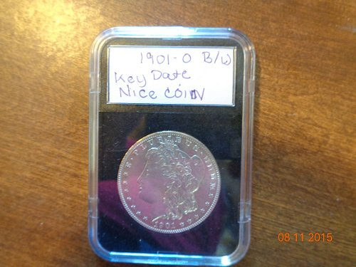 1901o Morgan Silver Dollar  B/U