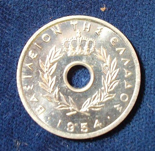 1954 Greece 10 Lepta