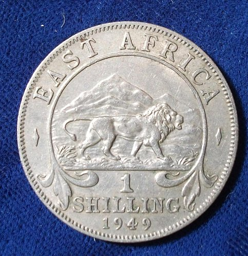 1949 East Africa Shilling XF
