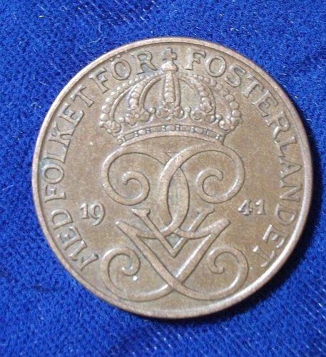 1941 Sweden 5 Ore XF