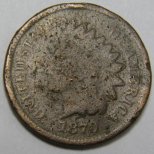 1870 Indian Head Cent #7
