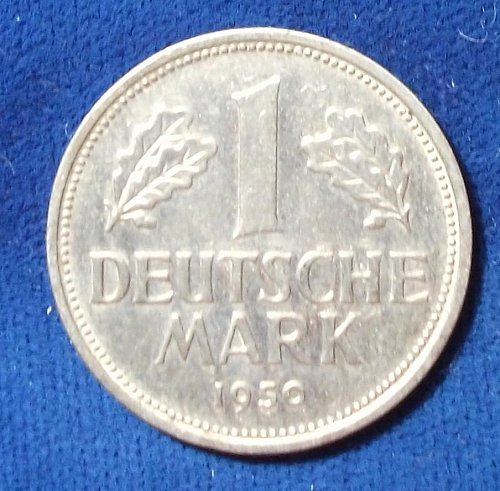 1950 D Germany/Federal Rep Mark VF+